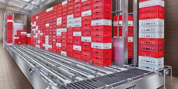 System automatycznego transportu pojemników-min