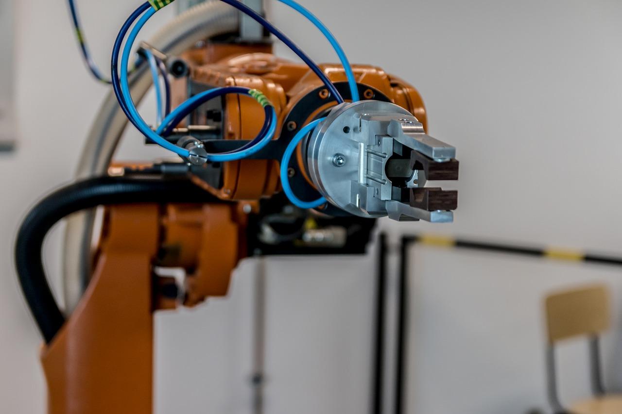 robot robotyzacja produkcji